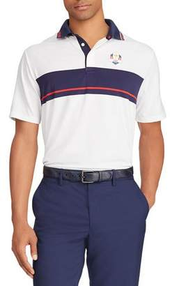 "Ralph Lauren Men's ""Tuesday"" USA Ryder Cup French-Knit Golf Polo Shirt"