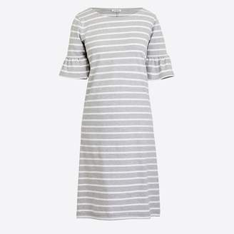 J.Crew Factory Ruffle-sleeve dress