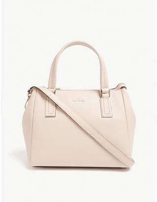 Kate Spade Ladies Warm Vellum Pink Striped Kingston Drive Mini Alena Leather Shoulder Bag