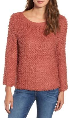 Caslon Loop Stitch Crewneck Sweater