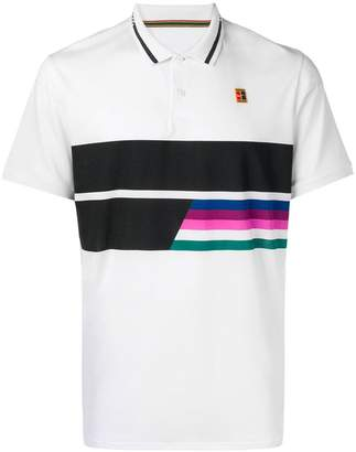 Nike striped polo shirt