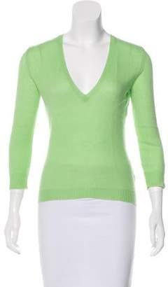 Ralph Lauren Black Label Cashmere V-Neck Sweater