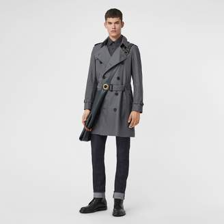 Burberry The Chelsea Heritage Trench Coat , Size: 46, Grey