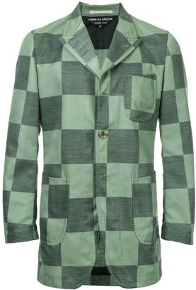 Comme des Garcons Pre-Owned checkerboard jacket