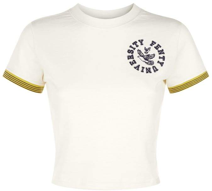 Fenty Puma Cropped Varsity T-Shirt