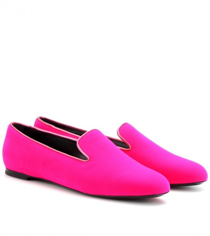 Roger Vivier Velvet slippers
