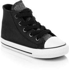 Converse Baby's Chuck Taylor All Star Glitter Leather Sneakers