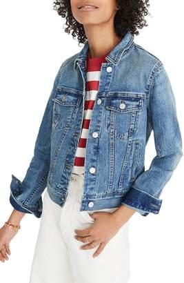 Madewell Shrunken Stretch Denim Jacket