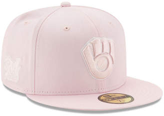 New Era Milwaukee Brewers C-Dub Patch 59FIFTY Cap