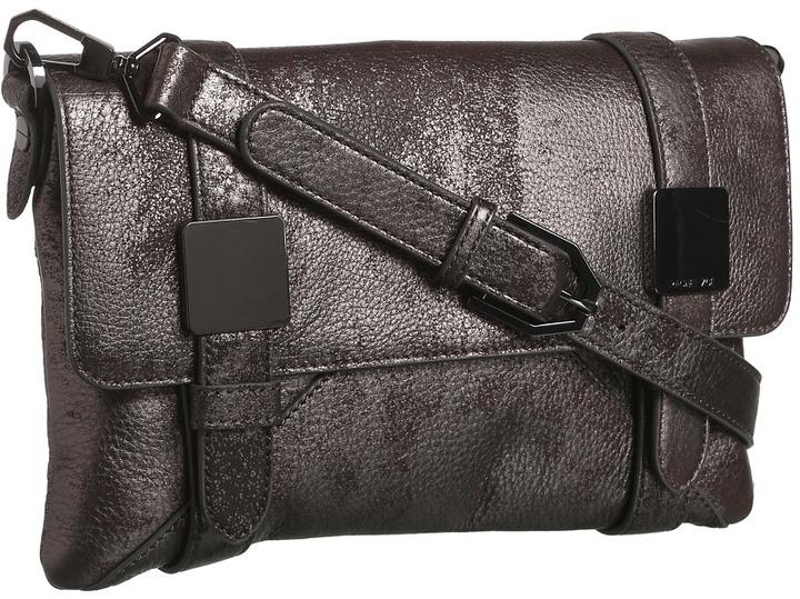 Rachel Zoe Morrison Clutch (Brushed Pewter Metallic) - Bags and Luggage