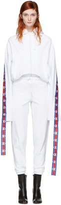 Vetements White Champion Edition Hoodie $990 thestylecure.com