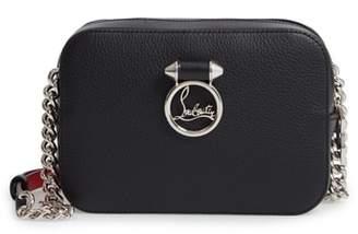 Christian Louboutin Mini Rubylou Calfskin Leather Crossbody Bag
