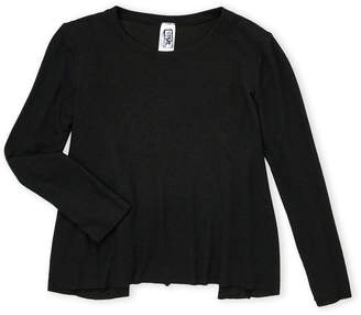 Erge Girls 7-16) Jersey Long Sleeve Tee