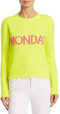 Alberta Ferretti Monday Intarsia Sweater