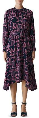 Whistles Butterfly Print Shirt Dress