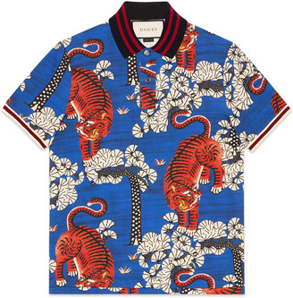 Gucci Bengal print polo $790 thestylecure.com