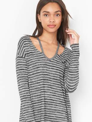 Gap Softspun slit-shoulder tee