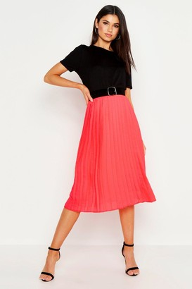 7a1485648 Coral Pleated Skirt - ShopStyle UK