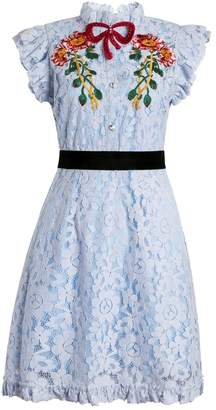 Cotton Candy Comino Couture Blue Dress