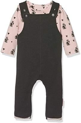 Noppies Baby Girls' G Polyesteraysuit Set Sweat Ispani Bodysuit,6-9 Months