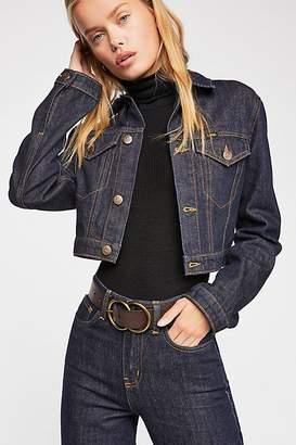 Lee Cropped Denim Jacket