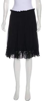 Philosophy di Lorenzo Serafini Pleated A-Line Skirt