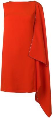 McQ short rhinestone-embellished dress