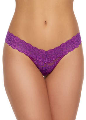 Hanky Panky Low-Rise Cross-Dyed Thong