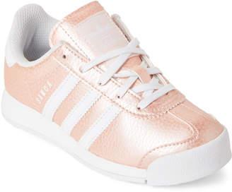 adidas Toddler/Kids Girls) Ice Pink Samoa Low-Top Sneakers