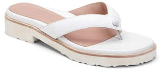 d55c057c38adfe Taryn Rose Collection Taziana Leather Thong Sandals