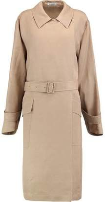 Jil Sander Belted Twill Trench Coat