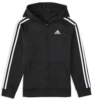 adidas Boys' Melange Track Jacket - Little Kid, Big Kid