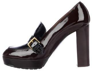 Marni Patent Leather Loafer Pumps