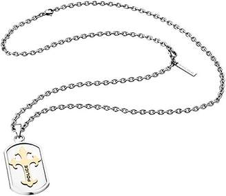 Police Men's Chain Necklace with Pendant Stainless-Steel PJ25570PSRG Gatekeeper - 02