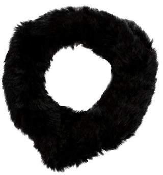 Saks Fifth Avenue Knit Fur Snood Scarf