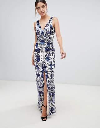 Cobalt Blue Maxi Dress Shopstyle Uk