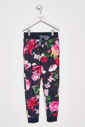 Next Girls Angel & Rocket Floral Trouser