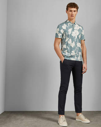 Ted Baker WILOW Floral print polo shirt