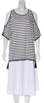 Calypso Short Sleeve Linen Top