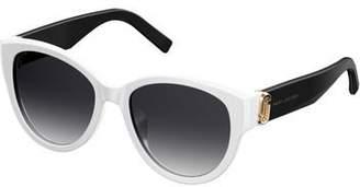 Marc Jacobs Women's Double J Cat Eye Sunglasses