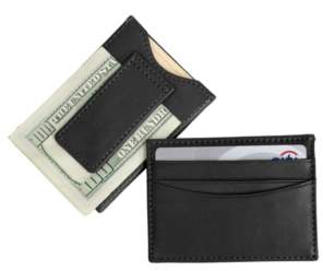 Emporium Leather Co Royce New York Slim Magnetic Money Clip Wallet