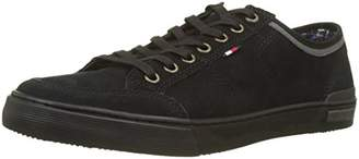 Tommy Hilfiger Men's Core Suede Lace up Low-Top Sneakers