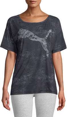 Puma Dancer Drapey Performance Tee