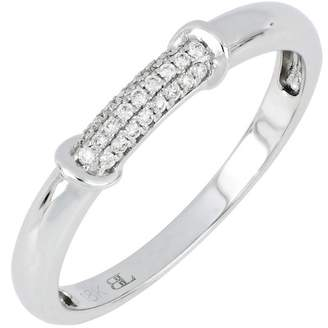 Bony Levy 18K White Gold Diamond Pave Ring - 0.08 ctw