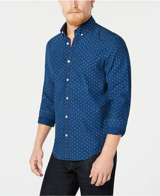 Tommy Hilfiger Men's Scott Printed Shirt