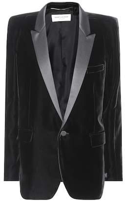Saint Laurent Velvet tuxedo jacket