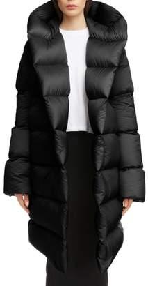 Rick Owens Down Fill Puffer Coat