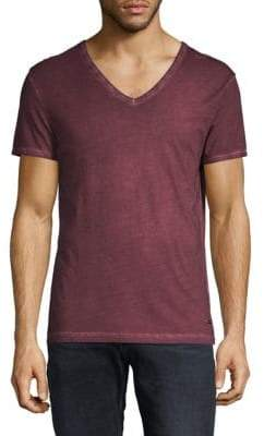 HUGO BOSS V-Neck Cotton Tee