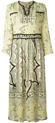 Etro paisley kaftan dress