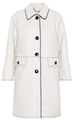 Marc Jacobs Faux-leather coat